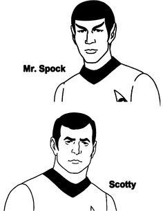 Star Trek Coloring Page