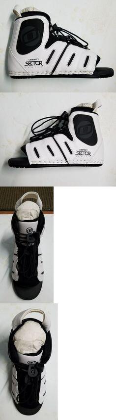 Wakeboard Bindings 47362: Obrien Sector Rear Binding Mens 7-10 White Black -> BUY IT NOW ONLY: $35 on eBay!