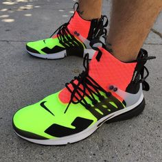 Our First On-Foot Look At The ACRONYM x Nike Air Presto