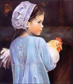 Amish darling. I have this NA Noel pic