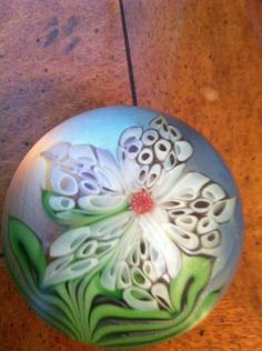 Orient & Flume Signed paperweight 1980 70 J