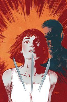 Ilustración original de la portada de Ultimate Comics. Ultimate X-Men 32, que se incluye en Ultimate Marvel 24.  http://www.paninicomics.es/web/guest/titulo_detail?viewItem=728863