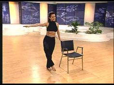 Dancer's Legs & Buns - Bellydance Fitness for Weightloss featuring Rania - YouTube