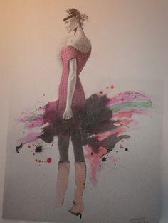 Talent Rodolfo - INDIA INK DRAWING