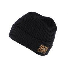 Bonnet à revers Brixton Coventry Bleu Marine #bonnet #mode #tendance #ideecadeau sur votre Boutique Headwear Hatshowroom.com #startup