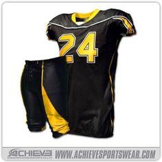 1be1c173d92 American football uniform Football Uniforms, Sports Uniforms, Football  Jerseys, Sports Shirts, Custom