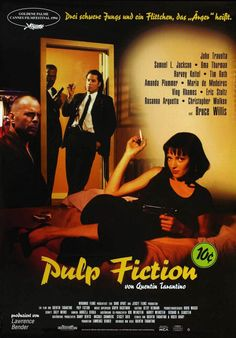 Pulp Fiction (1994) Directed by Quentin Tarantino