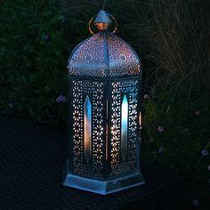 Vintaged Hexagon Bazaar Lantern