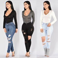 "49.4k Likes, 107 Comments - FashionNova.com (@fashionnova) on Instagram: ""❤️RESTOCK ALERT❤️⠀ Search: ""Voted Most Popular Bodysuit""⠀ Search: ""Beach Bum Jeans""⠀ Search:…"""