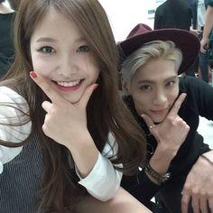 #jonghyun #shinee with #redvelvet #yeri #bluenightradio #mbc 092215