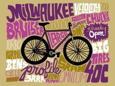 VO   Valérie Oualid : Agent d'illustrateurs   Chris Piascik   All My Bikes Illustration, Thankful, Artist, Artists, Illustrations