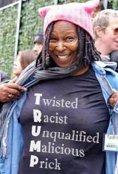 Pretty much, Whoopi 👍