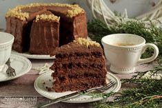 Sünis kanál: Mandulás csokoládétorta Food, Essen, Meals, Yemek, Eten