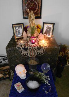 Altars:  Samhain - 2011 Ancestor #Altar.