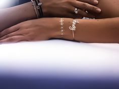 Rings with flash tattoo