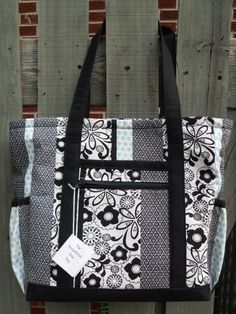Handmade Fabric Purse Tote by humblehrtdesigns on Etsy, $49.00