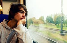 topic of the day: Why do window seats of a train or a bus make us th...