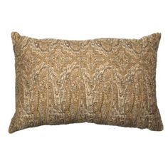 Long Paisley Gunmetal Lumber Cushion 35x53cm - Bandhini Homewear Design