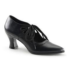 VICTORIAN-03 Victorian Style Heels @ SinisterSoles.com