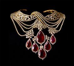 Beautiful diamonds ruby necklace by – Beautiful Jewelry Ruby And Diamond Necklace, Ruby Necklace, Ruby Jewelry, Diamond Jewelry, Jewelery, Fine Jewelry, Diamond Necklaces, Women's Jewelry, Jewelry Stores