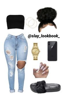 baddie outfits for winter Cute Lazy Outfits, Baddie Outfits Casual, Swag Outfits For Girls, Teenage Girl Outfits, Cute Swag Outfits, Girls Fashion Clothes, Teen Fashion Outfits, Stylish Outfits, Polyvore Outfits