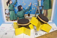 Girl Scout Centennial Celebration: Thin Mints Peanut Butter Sandwiches