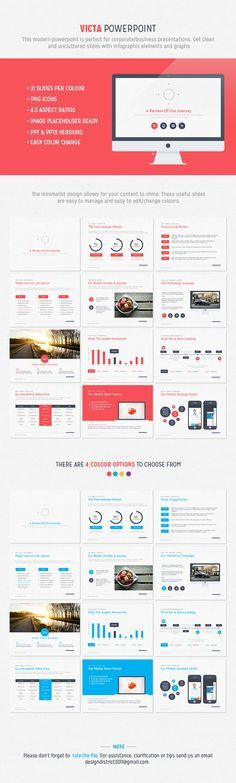 Check out new work on my behance portfolio free powerpoint victa powerpoint by design district via behance toneelgroepblik Choice Image
