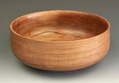 """Traditional Redwood Calabash Bowl by Jerry Kermode. Size: 8 1/4""""W x 3 3/8""""H Price: $200.00 -- on ScrimshawGallery.com #Kermode #bowl"""