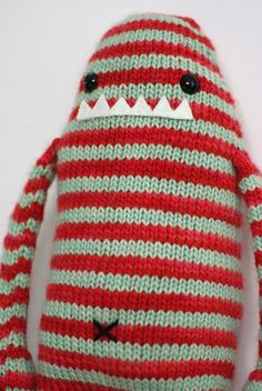 knitted cute monster