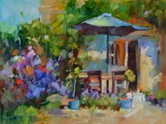 Sunny Days in France and Keepers of the Beauty, painting by artist Dreama Tolle…