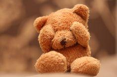 i love a well worn stuffed teddy