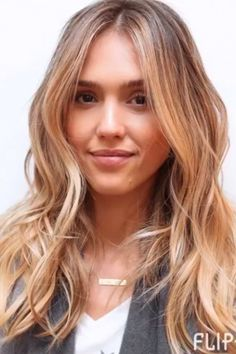 See How Jessica Alba Has Transformed Her Hair From Brunette To Blonde With A Little Help From Balayage...
