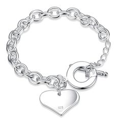 Women Jewelry 925 Silver Plated Charm Rhinestone Cuff Bangle Bracelet Hot r in Jewelry & Watches, Fashion Jewelry, Bracelets Bracelets For Men, Fashion Bracelets, Bangle Bracelets, Fashion Jewelry, Women Jewelry, Ladies Jewelry, Trendy Jewelry, Jewelry Accessories, Gold Plated Bracelets