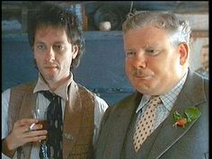 Richard E. Grant and Richard Griffiths in WITHNAIL & I Withnail And I, Sound Words, Person Of Interest, The Best Films, Tv Quotes, Music Film, Celebs, Celebrities, Caricature