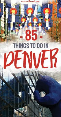 85 Things to Do in Denver - If you're headed to Colorado and planning to spend time in Denver, this list of things to do will get you started visiting museums, restaurants, breweries and hikes around Denver. Denver, Colorado | Things to do in Denver | Things to do in Colorado #Denver #colorado #travel