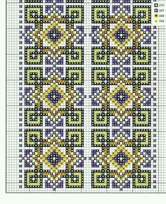 Вишиванка Cross Stitch Borders, Cross Stitch Flowers, Cross Stitch Designs, Cross Stitch Patterns, Quilt Patterns, Cross Stitch Embroidery, Hand Embroidery, Palestinian Embroidery, Chart Design