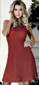 pretty crochet dress pattern