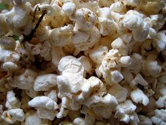 anxiously waiting & snacking: french herbed popcorn | Everybody Likes Sandwiches