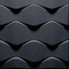 Sound absorbing wall tiles FLO Soundwave® Collection by Offecct | design Karim Rashid