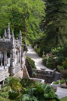 [Image Source] Sintra is a town within the municipality of Sintra in the Grande Lisboa subregion of Portugal. Sintra Portugal, Spain And Portugal, Portugal Travel, Beautiful Places To Visit, Wonderful Places, Places To Travel, Places To See, Places Around The World, Around The Worlds