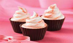 Red Velvet Ice Cream Cupcakes | Only Good Recipes