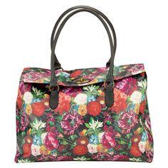 Dark Romance floral weekend bag
