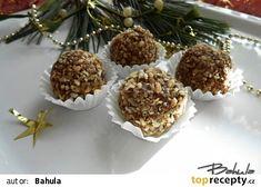 Nepečené tatrankové kuličky recept - TopRecepty.cz Muffin, Breakfast, Food, Advent, Morning Coffee, Essen, Muffins, Meals, Cupcakes