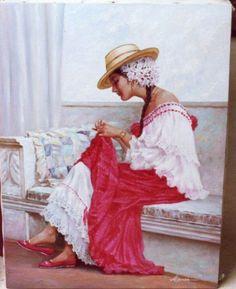 Pollera Panama Canal, Panama City Panama, Latina, My Heritage, Bohemian Gypsy, Photo Illustration, Central America, Traditional Dresses, Couture