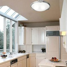 Small Kitchen Lighting Design for Agreeable Ideas Engaging Small Kitchen Lighting, Country Kitchen Lighting, Kitchen Lighting Design, Kitchen Lighting Fixtures, Light Fixtures, Galley Kitchen Design, Loft Kitchen, Kitchen Decor, Apartment Kitchen