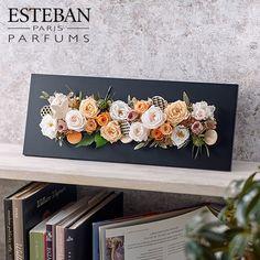 香りを楽しむ母の日限定ギフト ESTEBAN「ネロリ」フレグランスフレームアート