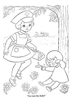 Tiny Toodles Coloring Book PD