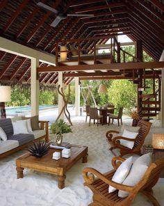 great backyard Hawaiian style