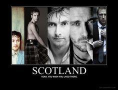 yes, yes I do.  (Scottish Men: James McAvoy, Ewan McGregor, David Tennant, Gerard Butler, Kevin McKidd)