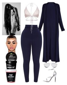 """""""Recording Studio: January 29"""" by allison-syko ❤ liked on Polyvore featuring Linda Farrow, 2023 and JazmineVines"""
